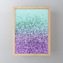 Mermaid Girls Glitter #9 #shiny #decor #art #society6 Framed Mini Art Print