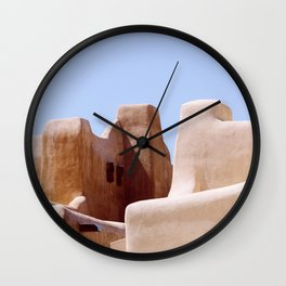 Colors of Santa Fe Wall Clock