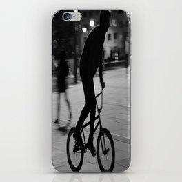 Ride the night iPhone Skin