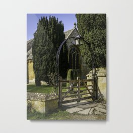 Church Arches Metal Print