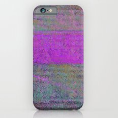 pink static Slim Case iPhone 6s