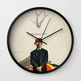 Bright Posture Wall Clock