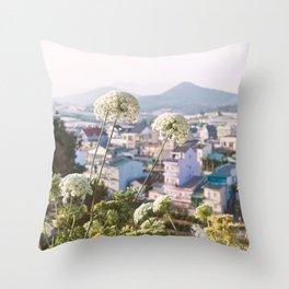 View of the Trai Mat Throw Pillow