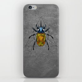 Geo Beetle  iPhone Skin