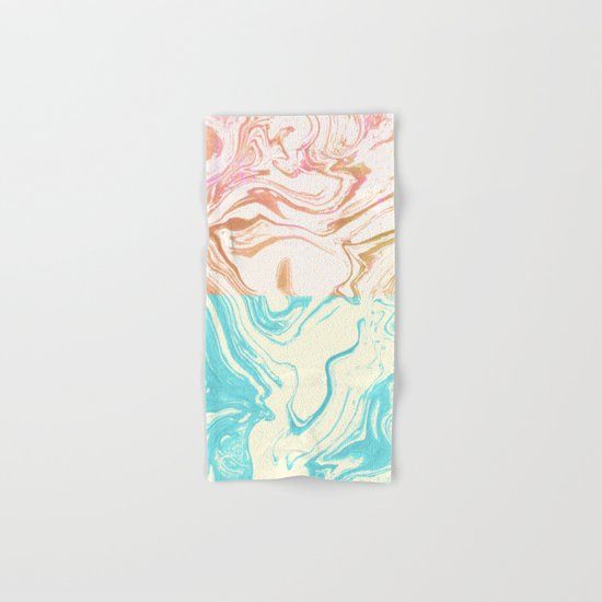 Paint Duality #society6 #decor #buyart Hand & Bath Towel