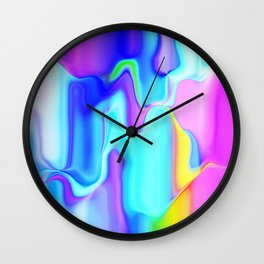 Dripping Paint 3 Wall Clock