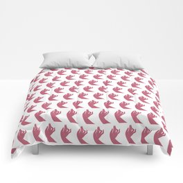 Holly Hands Comforters
