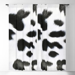 cowhide spots (july 2021) Blackout Curtain