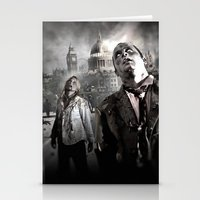 zombies Stationery Cards featuring Zombies by Joe Roberts
