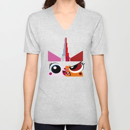 Dual Unikitty Unisex V-Neck