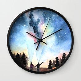 Galaxy Artwork Wall Clock
