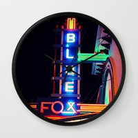 theater Wall Clocks featuring Old Theater by americansummers