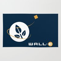 wall e Area & Throw Rugs featuring Wall • E by Citron Vert