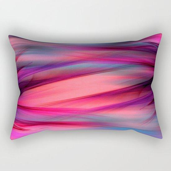 Summer Sky Abstract Rectangular Pillow
