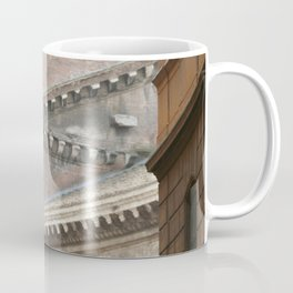 Street View of the Pantheon of Rome Coffee Mug