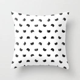 I See Cat People Throw Pillow