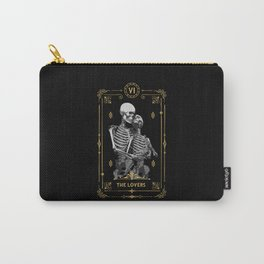 The Lovers VI Tarot Card Carry-All Pouch
