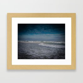 Gold Coast Beach Swim Framed Art Print