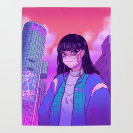 Shibuya Girl Poster