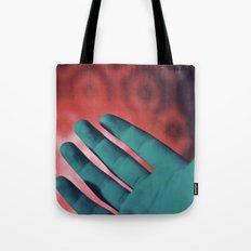 Neon Hands Tote Bag