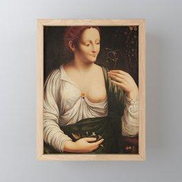 """Francesco Melzi """"Colombine"""" Framed Mini Art Print"""