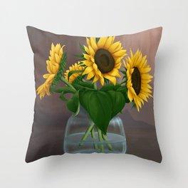 Happy Birthday, Vincent! Throw Pillow