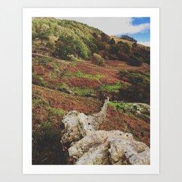 Snowdonia Art Print