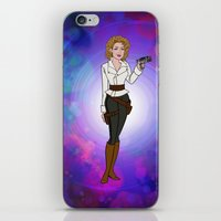 river song iPhone & iPod Skins featuring Doctor Who - River Song by ChrisAbles