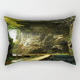 Natural Bridge 3 photography Rectangular Pillow