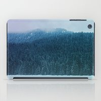 oregon iPad Cases featuring Oregon Winter by Leah Flores
