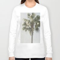 palm tree Long Sleeve T-shirts featuring Palm Tree by Pure Nature Photos