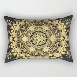 Sunshine in Mandala town Rectangular Pillow