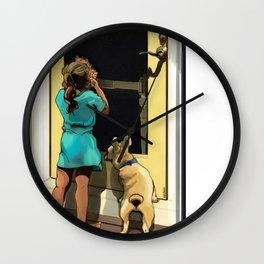 Francescan Summer Wall Clock