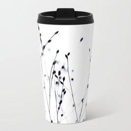 BLACK GRASS Metal Travel Mug