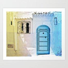 Chefchaouen Art Print