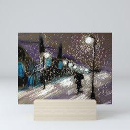 Stranger Mini Art Print