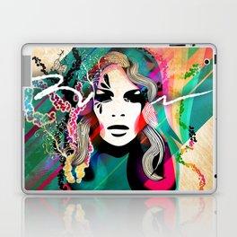 colorful hair Laptop & iPad Skin