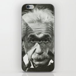 Albert E Mix 1 iPhone Skin