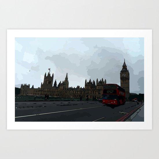 Bigben London  Art Print