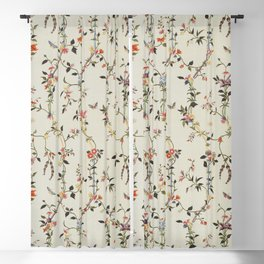 Floral Piece late 18th century Chinese for French market Blackout Curtain