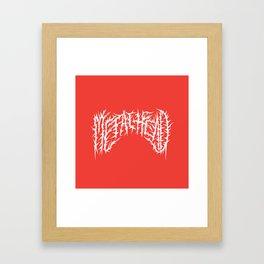 Metalhead Framed Art Print