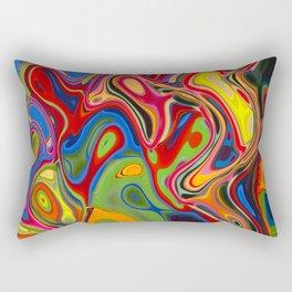 curved air Rectangular Pillow