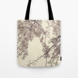 Raintree Lavender pink tree blossoms Tote Bag
