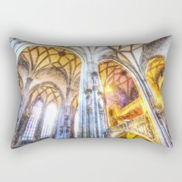 St Stephens Cathedral Vienna Art Rectangular Pillow