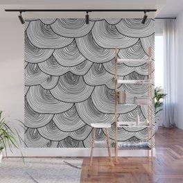Moody Rainclouds Wall Mural