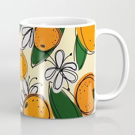 Oranges in Bloom Coffee Mug