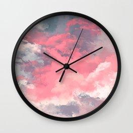 Transcendental Wall Clock