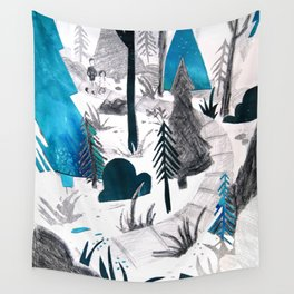 And the Children, They Know - Teal Wall Tapestry