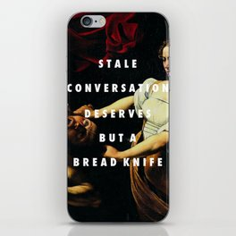Stale Conversation iPhone Skin
