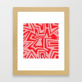 Ice Pink - Coral Reef Series 011 Framed Art Print
